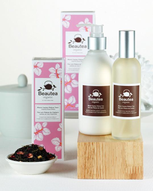 加拿大品牌l靓花茶系列产品包装设计