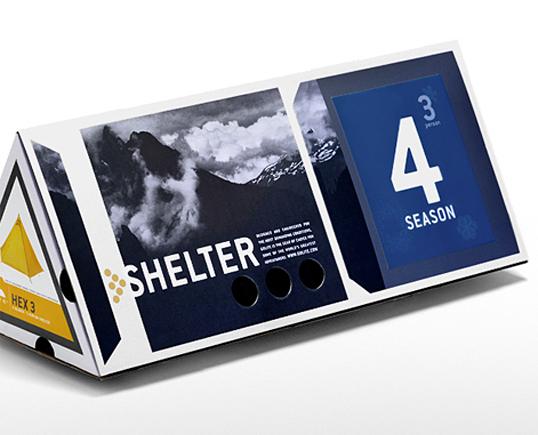 国外品牌 GOLIFE 帐篷包装设计 国外包装 包装设计