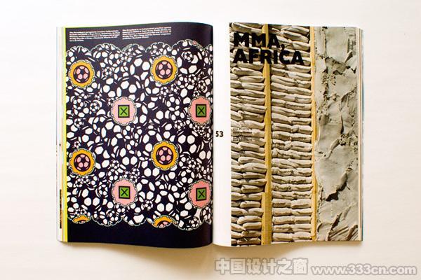 国际非洲 杂志设计 杂志欣赏 版式设计 书籍设计