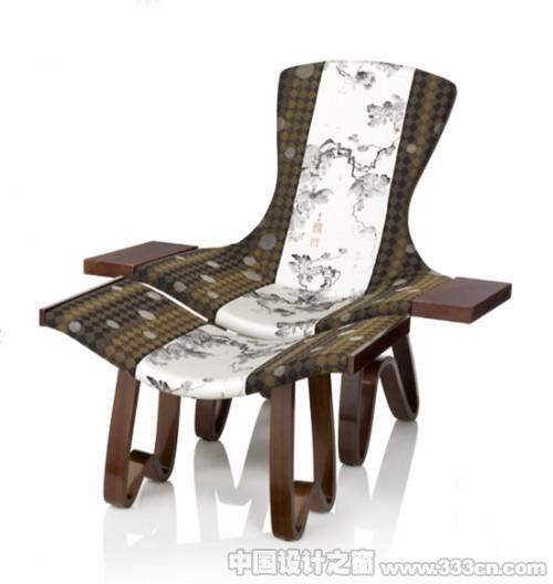 承袭日本和服风格的椅子