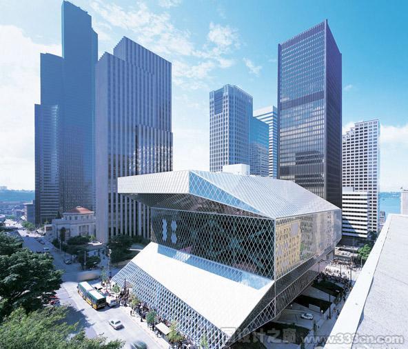 OMA设计的西雅图市中心图书馆