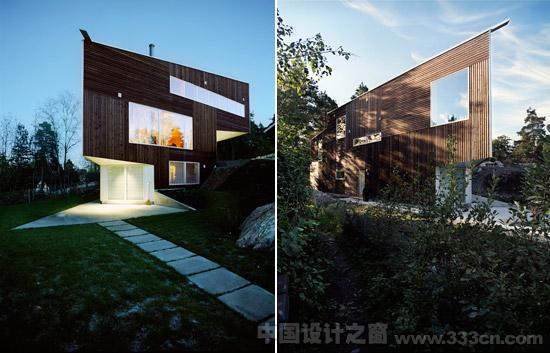 三角住宅 jarmund/vigsnaes architecture 建筑设计