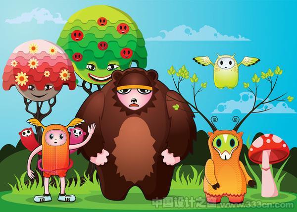澳大利亚设计师儿童插画作品
