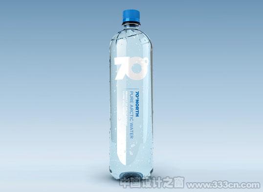 全新的水包装设计