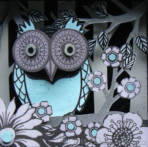 民间艺术作品――纸雕插画