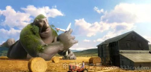 德国动画 动画短片 短片设计 短片欣赏 大力神重铸公共设施