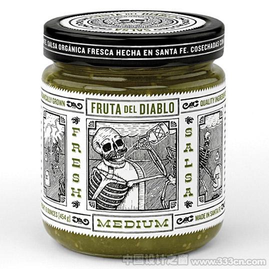 墨西哥调味酱包装设计