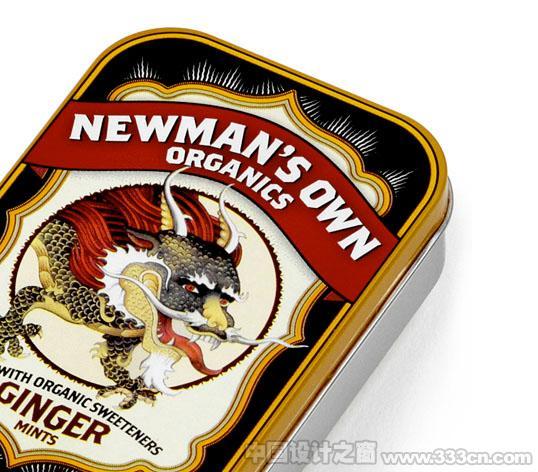 英国Newman糖果盒包装设计欣赏