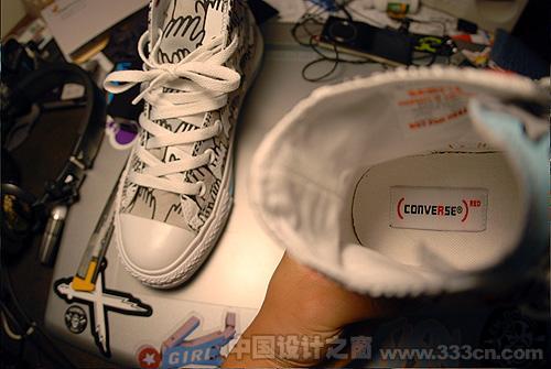 匡威千手帆布鞋包装设计