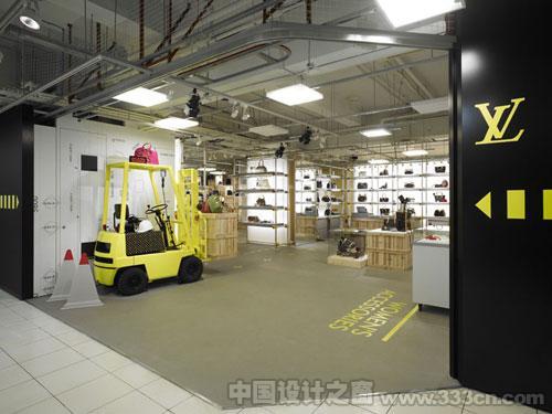lv店面 店面设计 室内 设计 装修 环艺
