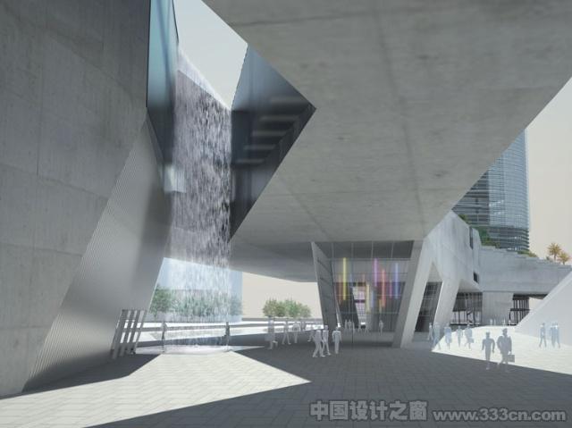 深圳 建筑 shenzhen4tower 建筑设计 模型