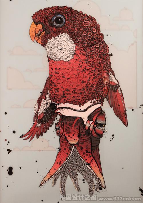 尼古豪斯 插画 风格 设计 欣赏