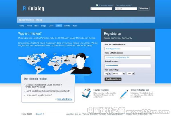 网站 网页设计 视觉 web 创意