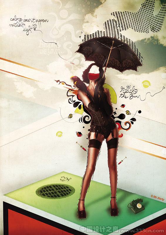 法国 插画 视觉 设计 创意