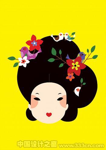 韩国 插画 设计 视觉 欣赏