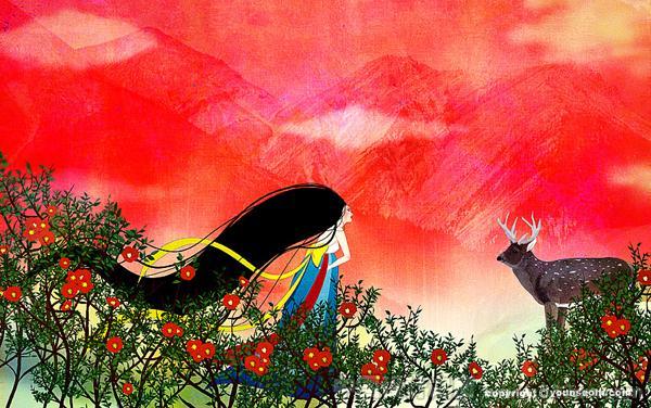插画 设计 欣赏 风格 韩国