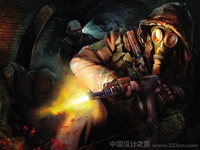 潜行者 晴空 游戏 Cg 角色设计