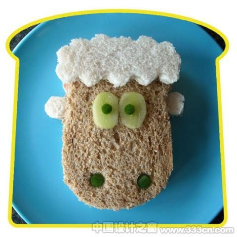 创意 设计 欣赏 英国 食物艺术