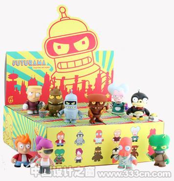 美国 Futurama 迷你玩偶 玩具 产品
