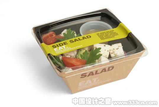 餐饮品牌EAT简洁独特包装设计
