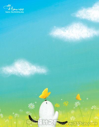 韩国简约可爱风格插画欣赏