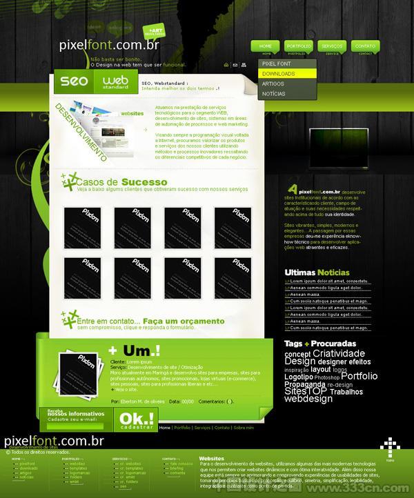 网页 设计 创意 版式 交互
