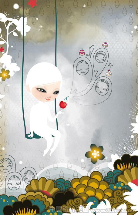 法国 插画 设计 创意 色彩