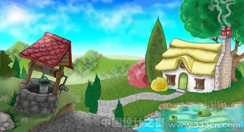 色彩 儿童 插画 创意 设计