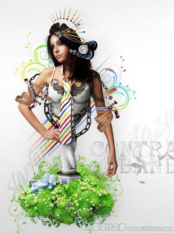 设计 插画 创意 版式 色彩
