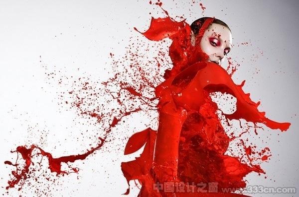 美丽的广告创意摄影