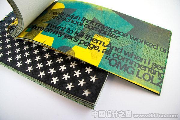 美国设计师创意画册设计欣赏