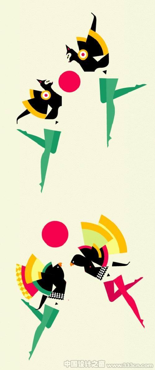 法国设计师Maloo很酷很漂亮的插画