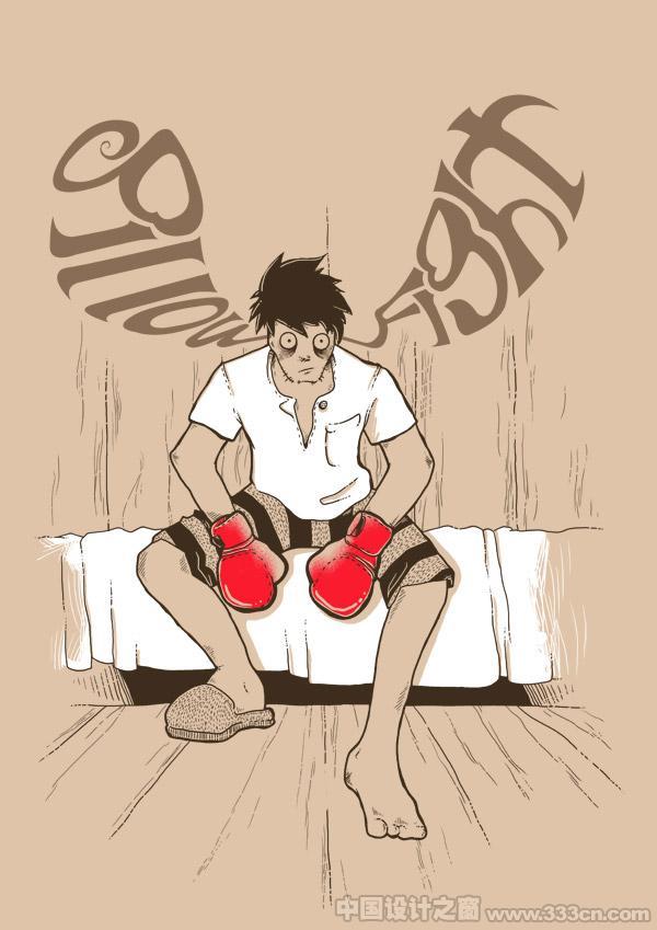 Tobias Fonseca的T恤图案插画设计