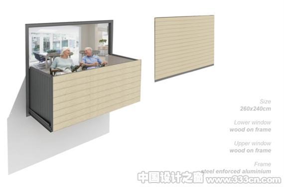五花八门的创意阳台设计