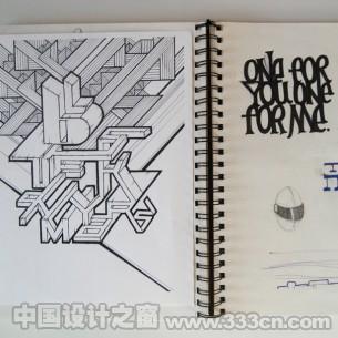 设计师Chad Kouri的书写本