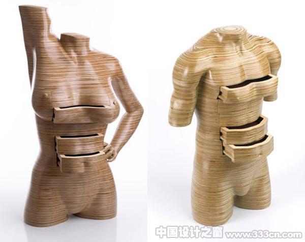 Peter・Rolfe 裸体 家具 设计 现代艺术