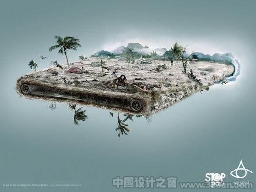 广告 创意 宣传画 环保 设计