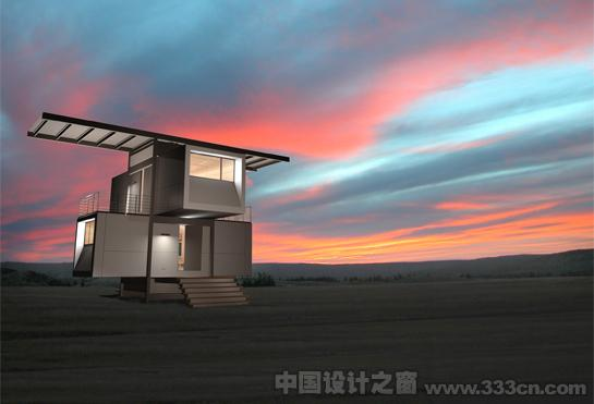 Scott・Specht zeroHouse 太阳能 环保建筑 设计