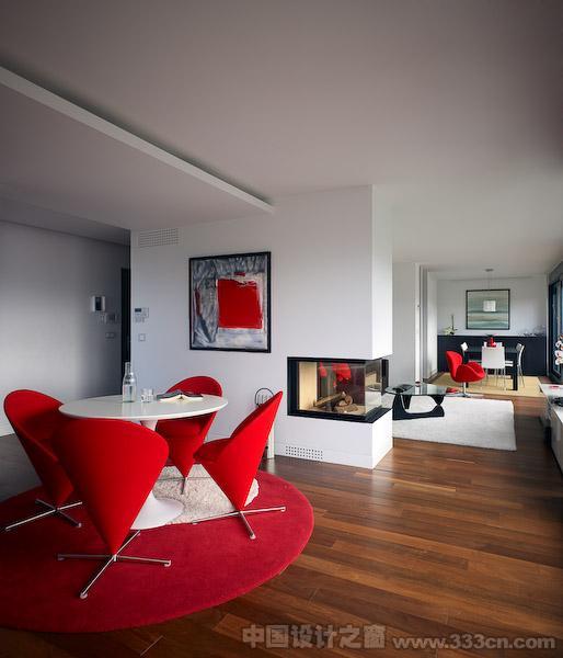 詹姆斯多明格斯维哥 室内设计 顶层复式 西班牙 装修