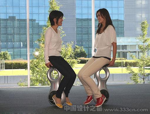 本田 U3-X 独轮 代步车 产品设计