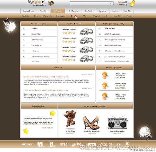 波兰 图标 网页 视觉 版式