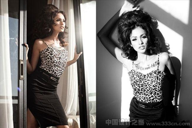 摄影 人物 时尚 黑白 印度尼西亚 Nicoline Patricia Malina