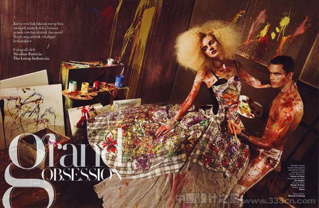 摄影 时尚 杂志 印度尼西亚 Nicoline Patricia Malina