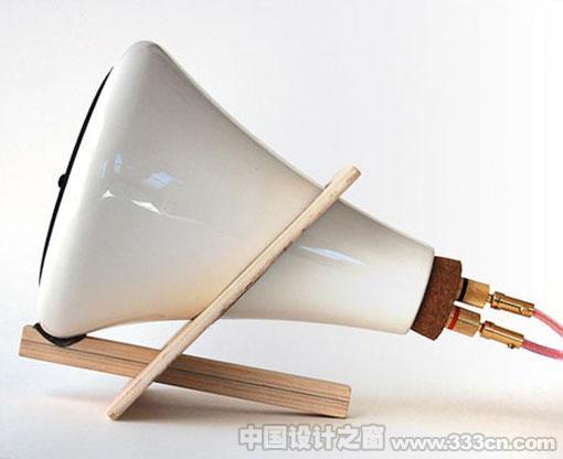 陶瓷 音箱 创意 工业设计 产品