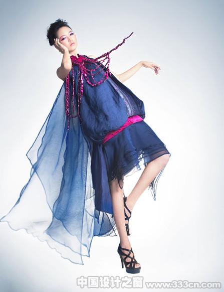 张立川服装设计作品《仲夏夜之梦》
