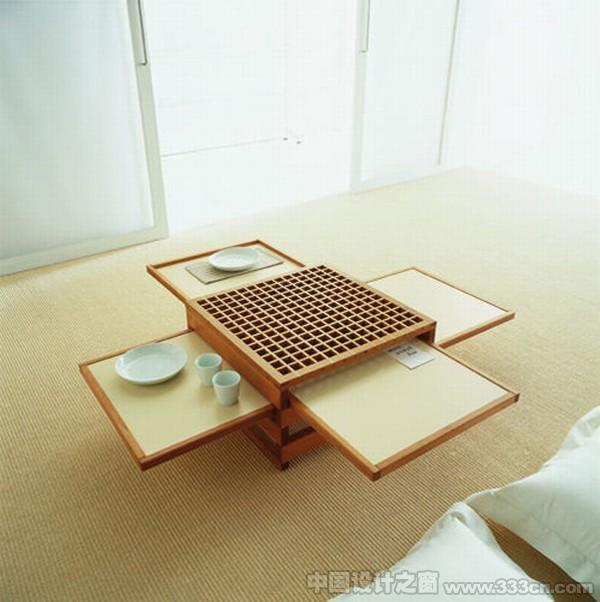 家具 咖啡桌 便捷 可扩展 创意