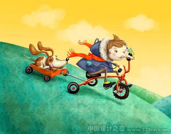 Kimberley・Pope 插画 儿童插画 创意 设计