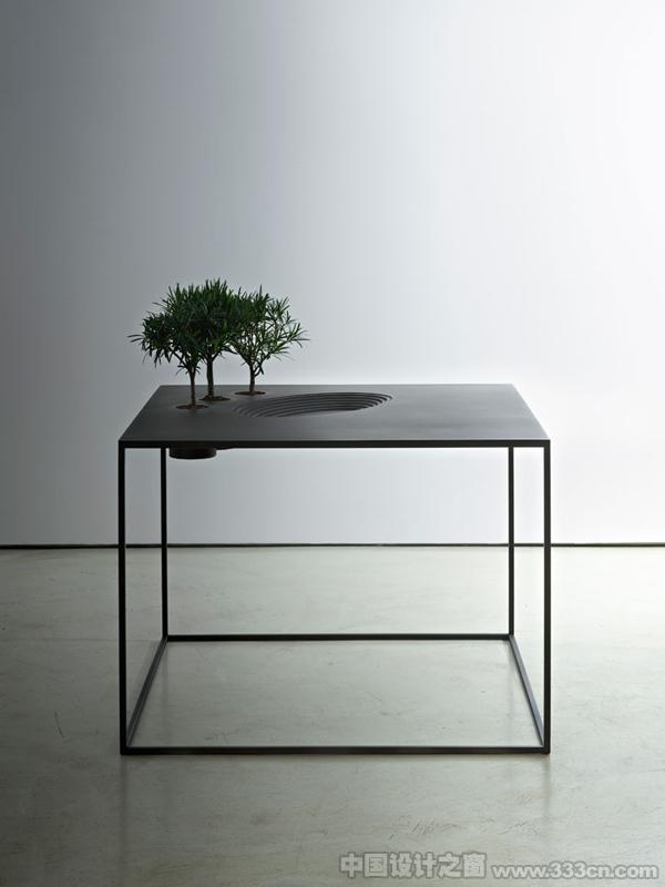 景观 植物 桌子 家具 环艺