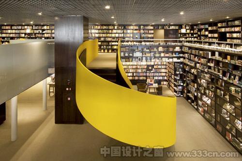 巴西 圣保罗 书店 室内 设计装修
