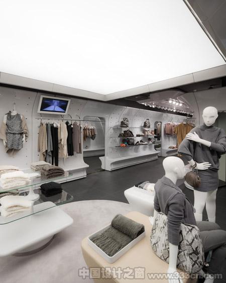 Stefanel 店铺设计 Sybarite 室内设计 装修